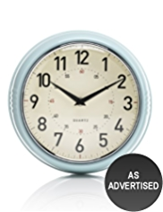 Retro Dome Case Wall Clock