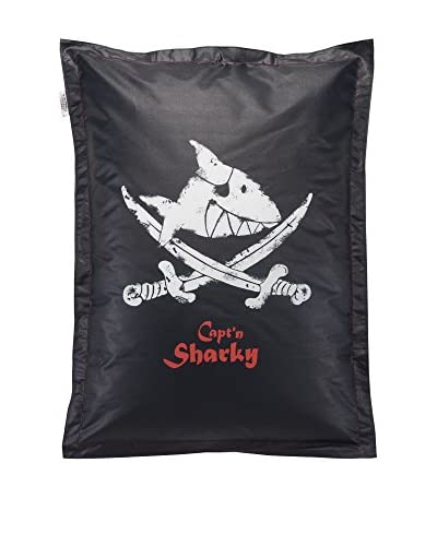 Sitting Bull Cojín Puff Niño Fashion Bag Capt`N Sharky Negro