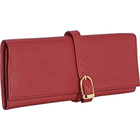 Royce Leather Jewelry Roll - Top Grain Leather