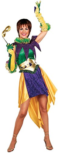 Forum Novelties Womens Holiday Mardi Gras Miss Theme Party Halloween Costume