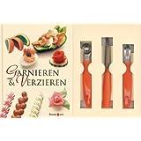 """Garnieren und Verzieren-Set: Buch mit Buntmesser, Kugelausstecher und Kanneliermesservon """"Rudolf Biller"""""""