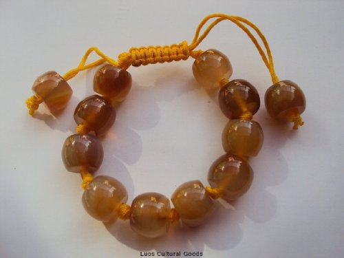 Luos Feng Shui Agate Stone Bracelet - Brings Protection - J177