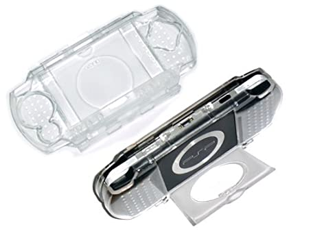Cables4PC New Clear Crystal Plastic Hard Case For Sony PSP