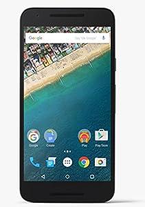Google Nexus 5X Smartphone (5,2 Zoll (13,2 cm) Touch-Display, 32 GB interner Speicher, Android 6.0) anthrazit