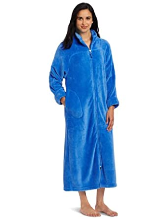 Casual Moments Women's 52 Breakaway Zip Robe