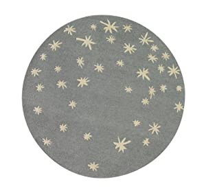 DwellStudio Galaxy Round Rug, Dusk