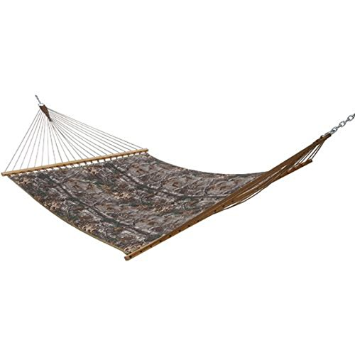 Prime Garden Realtree Camo Quilted Hammock Hunting