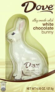 Dove Chocolate Bunny, Silky Smooth White, 4.5 Ounce