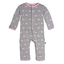 KicKee Pants Baby Girls\' Print Coveralls (Baby) - Dragonflies & Lily Pads - 18-24 Months