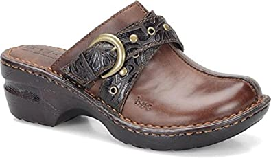 b.o.c KARLEY CHOCOLATE TOOLED Material Casual 7 B(M) US