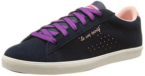 Le Coq Sportif  Agate Lo,  Sneaker donna Blu Bleu (Dress Blue/Apricot) 38
