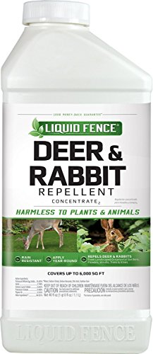 Liquid Fence 113 Deer and Rabbit Repellent, 40-Ounce Concentrate