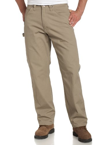 Riggs Workwear By Wrangler Men's Ripstop Carpenter Jean, Dark Khaki