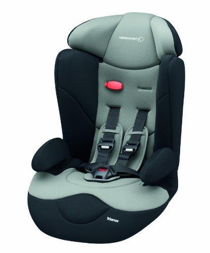 Bébé Confort Seggiolino auto Trianos Gruppo 1/2/3 (9-36kg), Total Black
