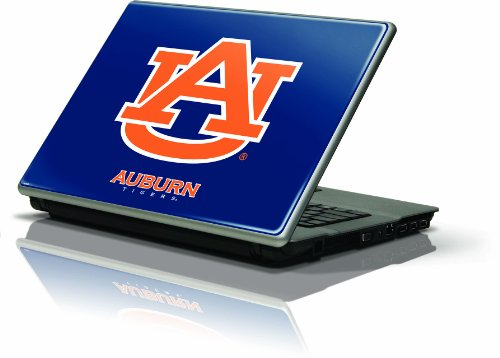 "Skinit Protective Skin Fits Latest Generic 13"" Laptop/Netbook/Notebook (Auburn University Blue & Orange Logo) at Amazon.com"