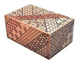 Yosegi 5 sun - 14 Step Japanese Puzzle Box by Japanese Puzzle Boxes