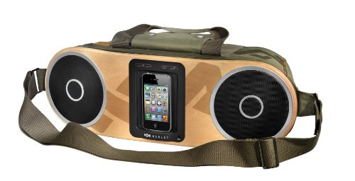 House Of Marley Bag Of Rhythm Portable Audio System For Ipod And Iphone