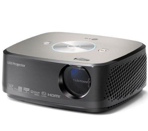 LG HX300G - DLP Projector - 270 ANSI lumens - XGA (1024 x 768) - 4:3 + Sportsline 23891 Carry Case - large