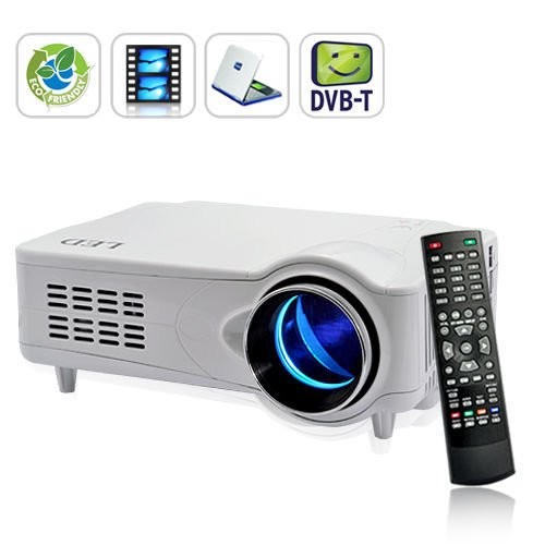 Mediamax Pro Led Multimedia Projector Dvb-T Hdmi Vga Av Home Theatre 1080P front-66156