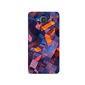 TAZindia Printed Hard Back Case Cover For Xiaomi Redmi 2S