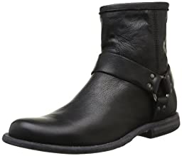 FRYE Men\'s Phillip Harness Boot ,Black 10.5 M US