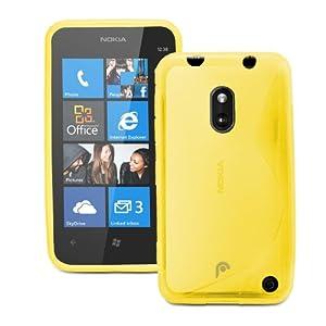 Fosmon DURA S Series TPU Case for Nokia Lumia 620 - Yellow