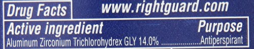 Right Guard Sport Invisible Solid, Fresh (Pack of 6)