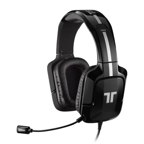 TRITTON PRO+ Casque Gaming True 5.1 Surround compatible PS4 / PS3 / Xbox 360  / Wii U / PC / Mac – Noir glossy
