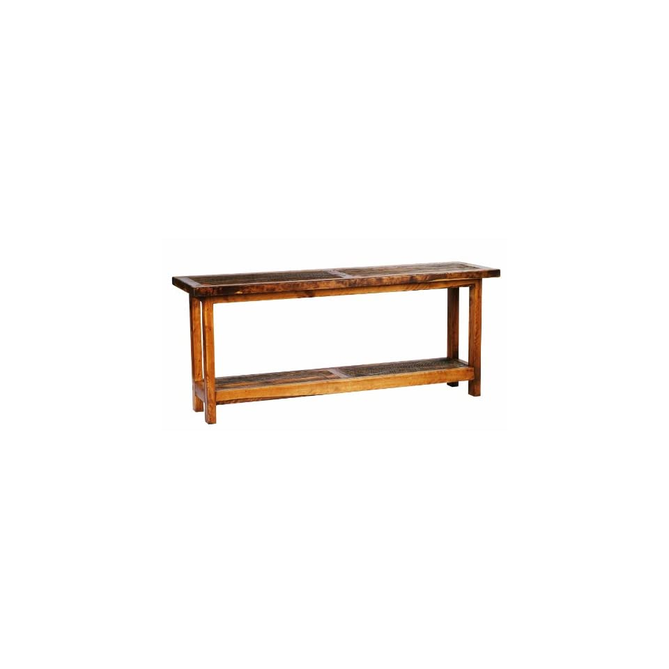 Com 5 foot rustic barnwood reclaimed wood sofa table home for 5 foot console table