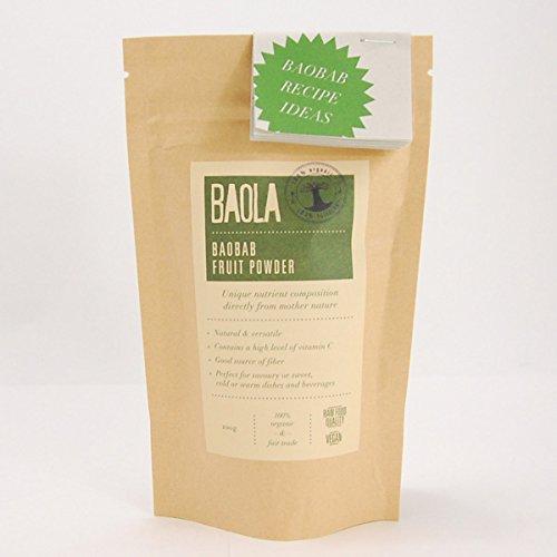 BAOBAB BAOLA バオバブ フルーツパウダー 非加熱 100g