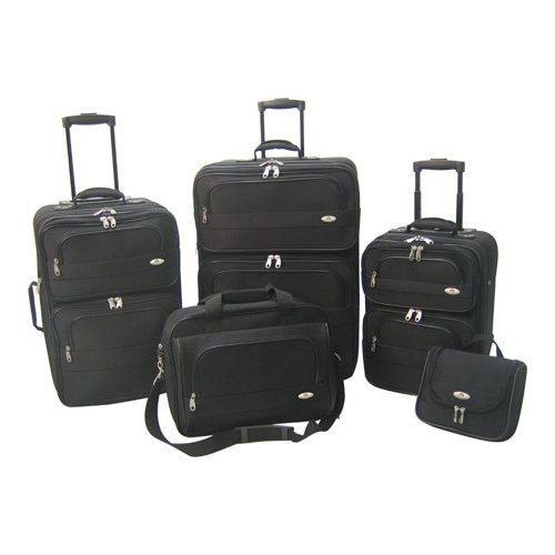 American Airlines by Olympia Summerlin 5-Piece Travel Luggage Set