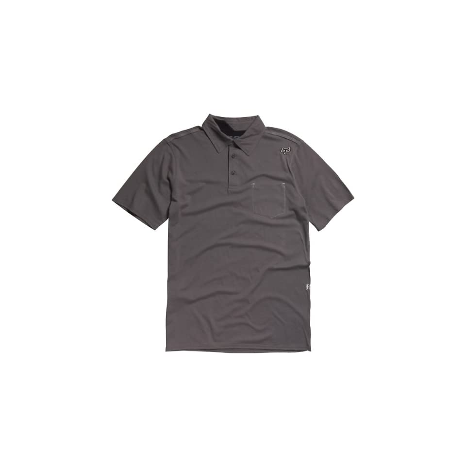 Fox Racing Outfoxed Polo Shirt GRAPHITE GREY Md