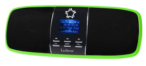 Lexibook Portable Bright Green Music Box