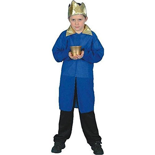 Blue Nativity King Kids Costume