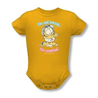 Garfield Comic I'M Creative Baby Infant Romper Snapsuit