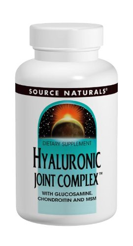 海外直送品 Source Naturals Hyaluronic Joint Complex, 30 Tabs