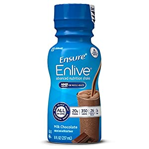 Ensure Enlive Nutrition Shake, Chocolate, 16 count, 8 fl.oz