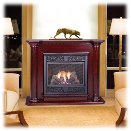 VENT-FREE LOGS GT; VENT-FREE GAS LOGS, MONESSEN AGED HICKORY