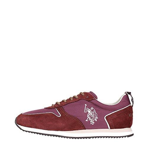 U.S. Polo Assn. ROUTE4226W4/NS1 Sneakers Uomo Tessuto Bordeaux Bordeaux 43