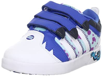 adidas Performance Unisex - Baby Disney Monsters C First Walking Shoes  Blue Blau (BLAST BLUE F13 / RUNNING WHITE FTW / DARK ONIX) Size: 33