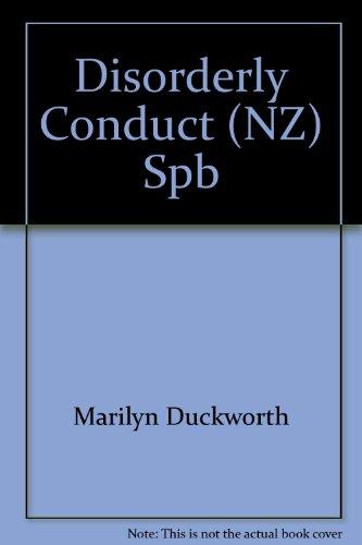 Disorderly Conduct (NZ) Spb PDF