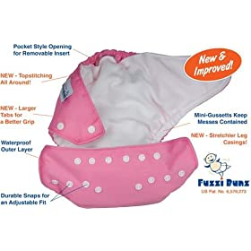 Fuzzi Bunz Cloth Diapers ~ 9-pack