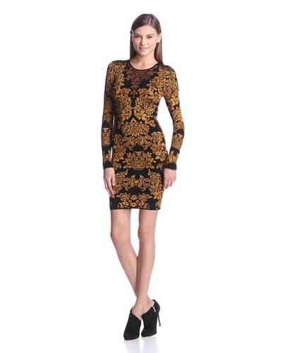 Torn by Ronny Kobo Women's Mammie Jacquard Bouquet Sheath Dress