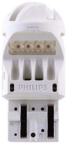 Philips 7443 Intense Red Vision LED Stop/Tail light, 2 Pack (Led Bulbs 7443 compare prices)