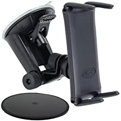 Robust Base Windshield Suction, Dashboard, or Console Mount