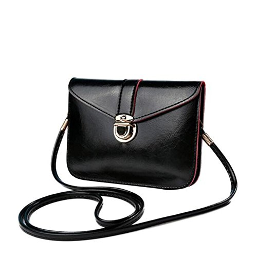bluester-fashion-zero-purse-bag-leather-handbag-single-shoulder-messenger-phone-bag-black