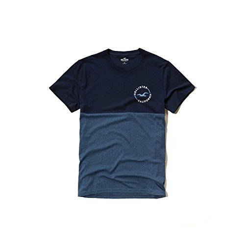 hollister-hco-mens-logo-graphic-t-shirt-tee-black-blue-and-much-more-m-m-colorblock-tee-2