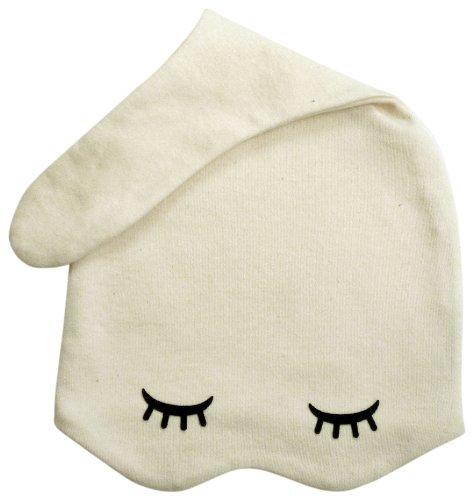 Zoe B Organic On The Go Sleepy Hats, Sweet Cream, 3-9 Months