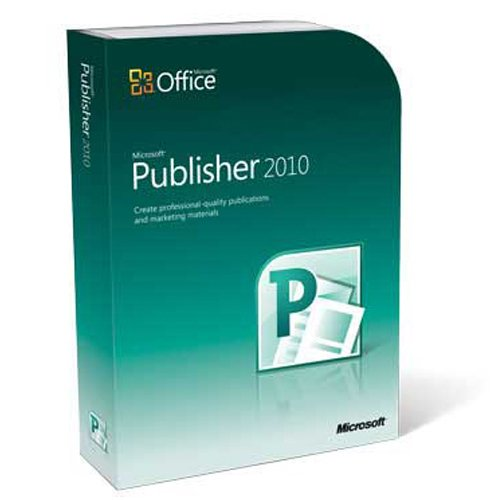 Microsoft Publisher 2010 (PC DVD)