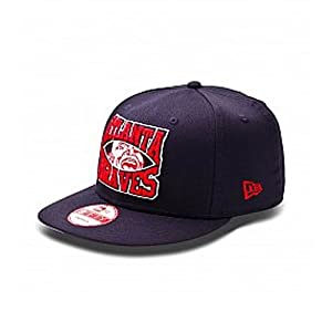 Atlanta Braves Cooperstown Collection Diamond 9fifty Snapback by New Era